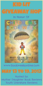 Kid Lit Giveaway Hop - Button - May 2013 - FINAL